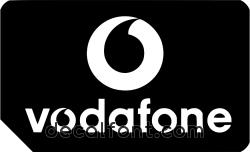Adesivo Vodafone 3