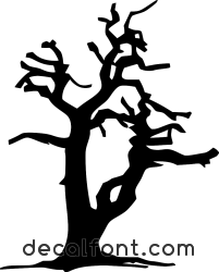 Adesivo albero-spoglio