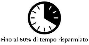 Risparmi fino al 60% di tempo con i nostri adesivi Zero Bolle
